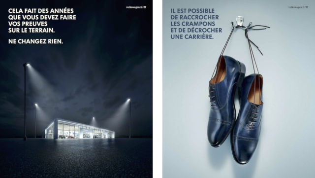 Volkswagen invite les fans de foot à passer à la télé