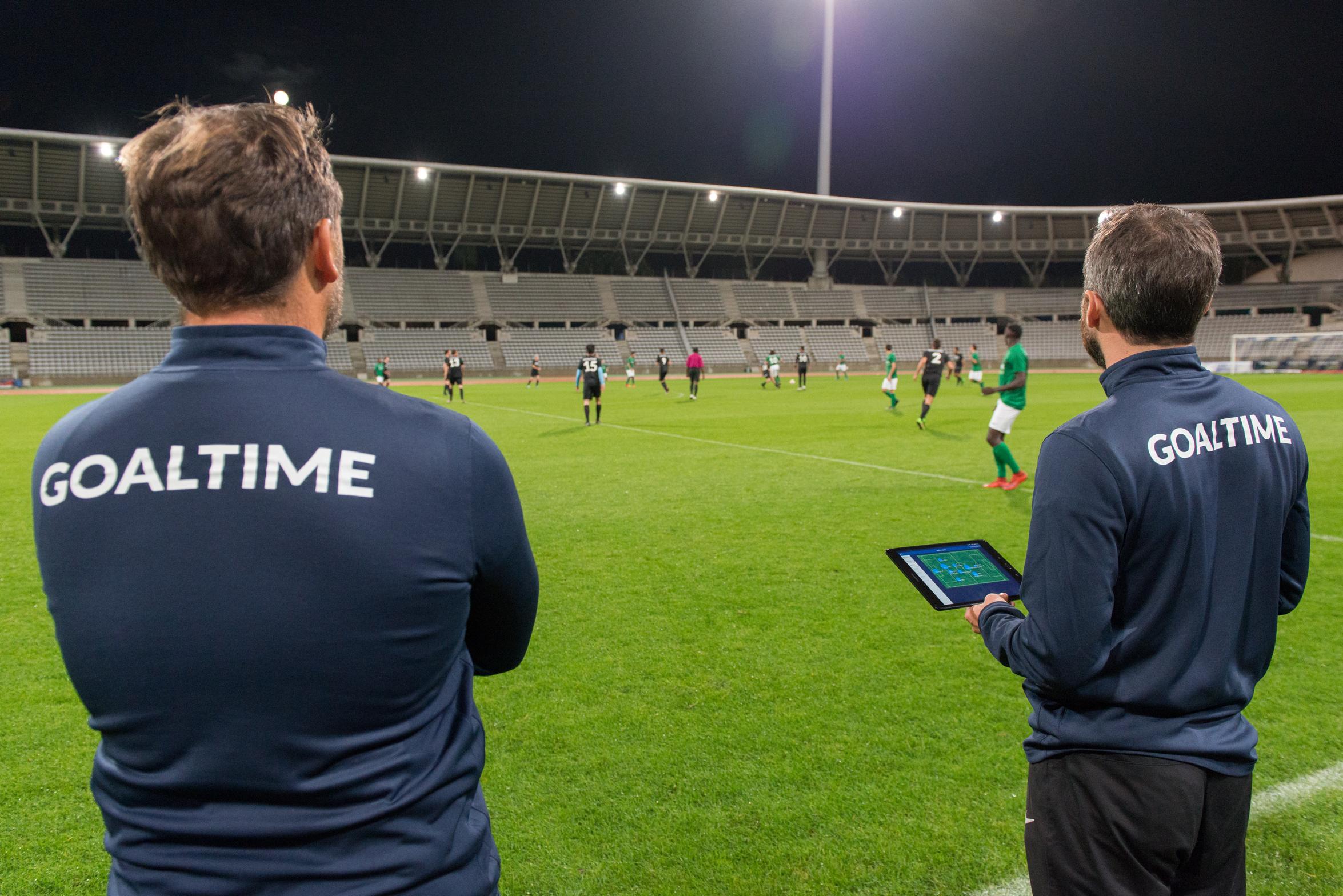 On a testé Goaltime, l'appli qui analyse tout ce qui se passe sur le terrain