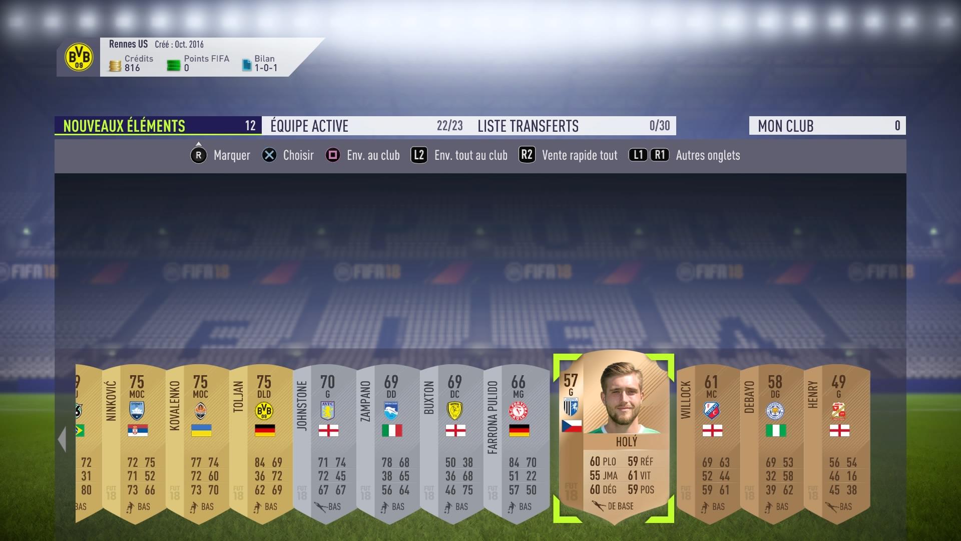 FIFA 18 : l'achat-revente, une technique à crédit