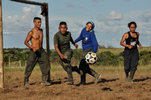Les ex-guérilleros de Colombie veulent créer leur club de foot