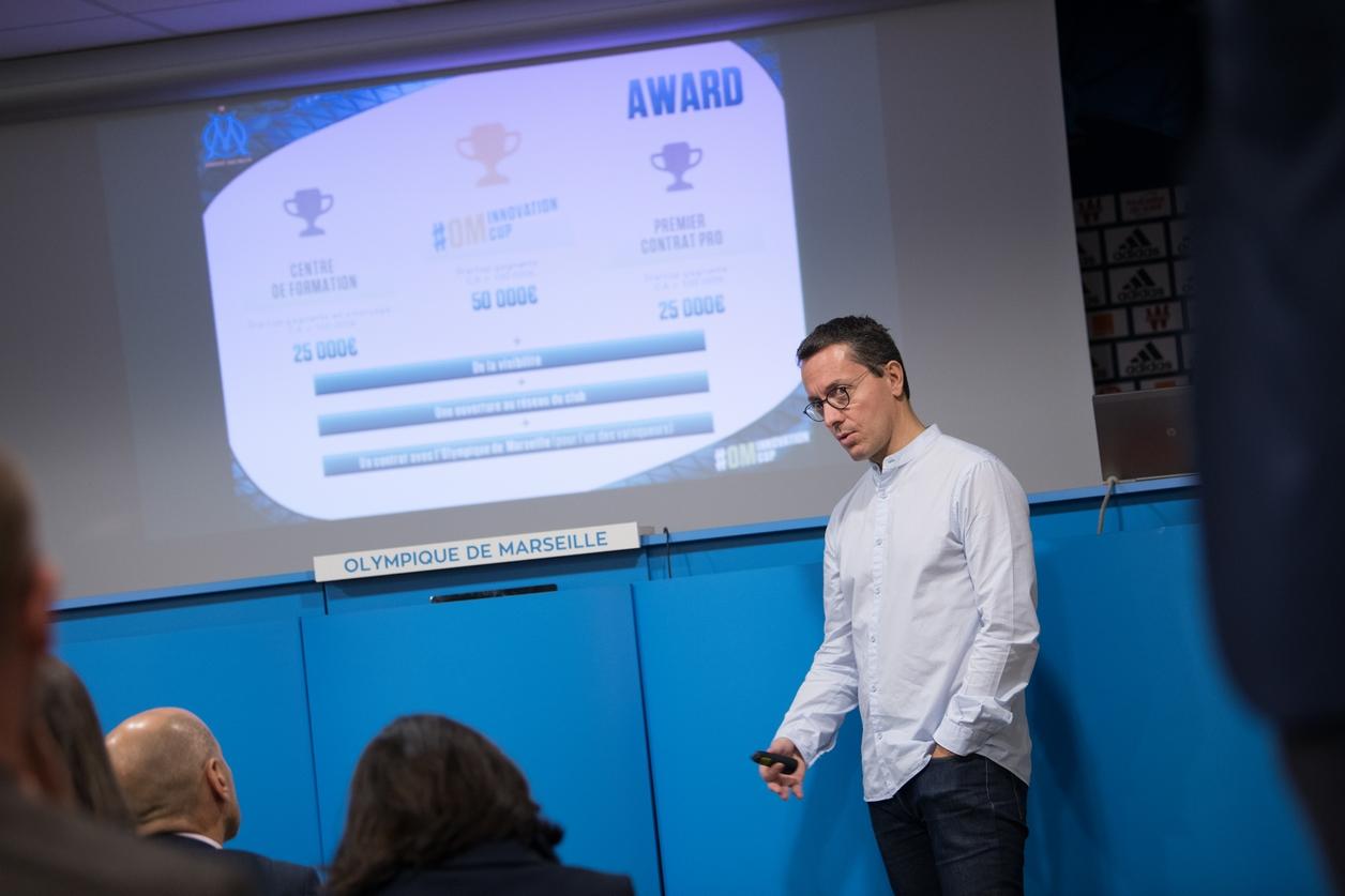 L'Olympique de Marseille lance l'« OM Innovation Cup »