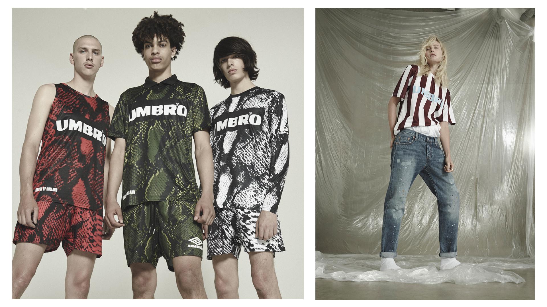 Umbro et Asos proposent une collection vintage d'inspiration foot
