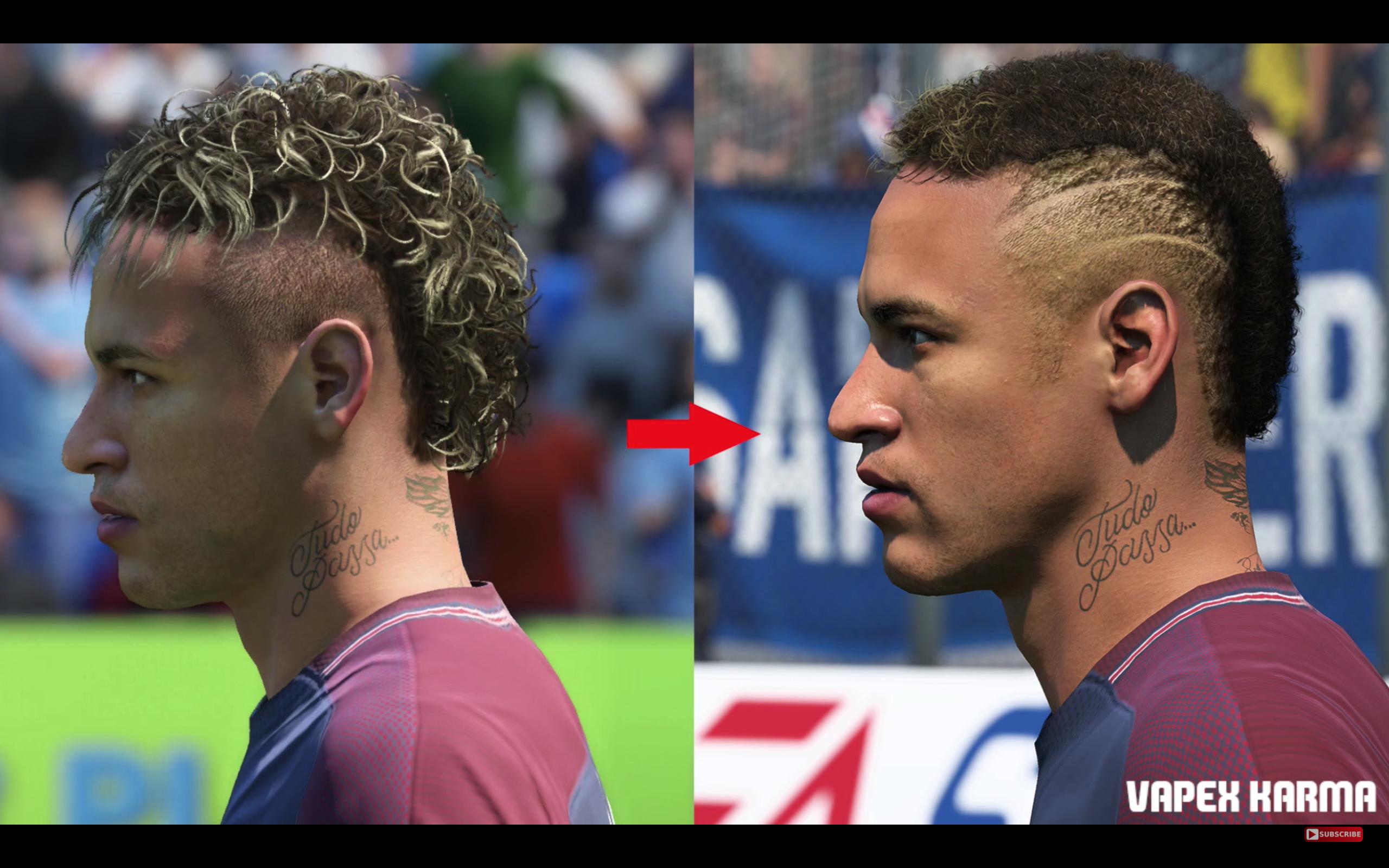 FIFA 18 a mis à jour les visages de certains joueurs et c'est impressionnant