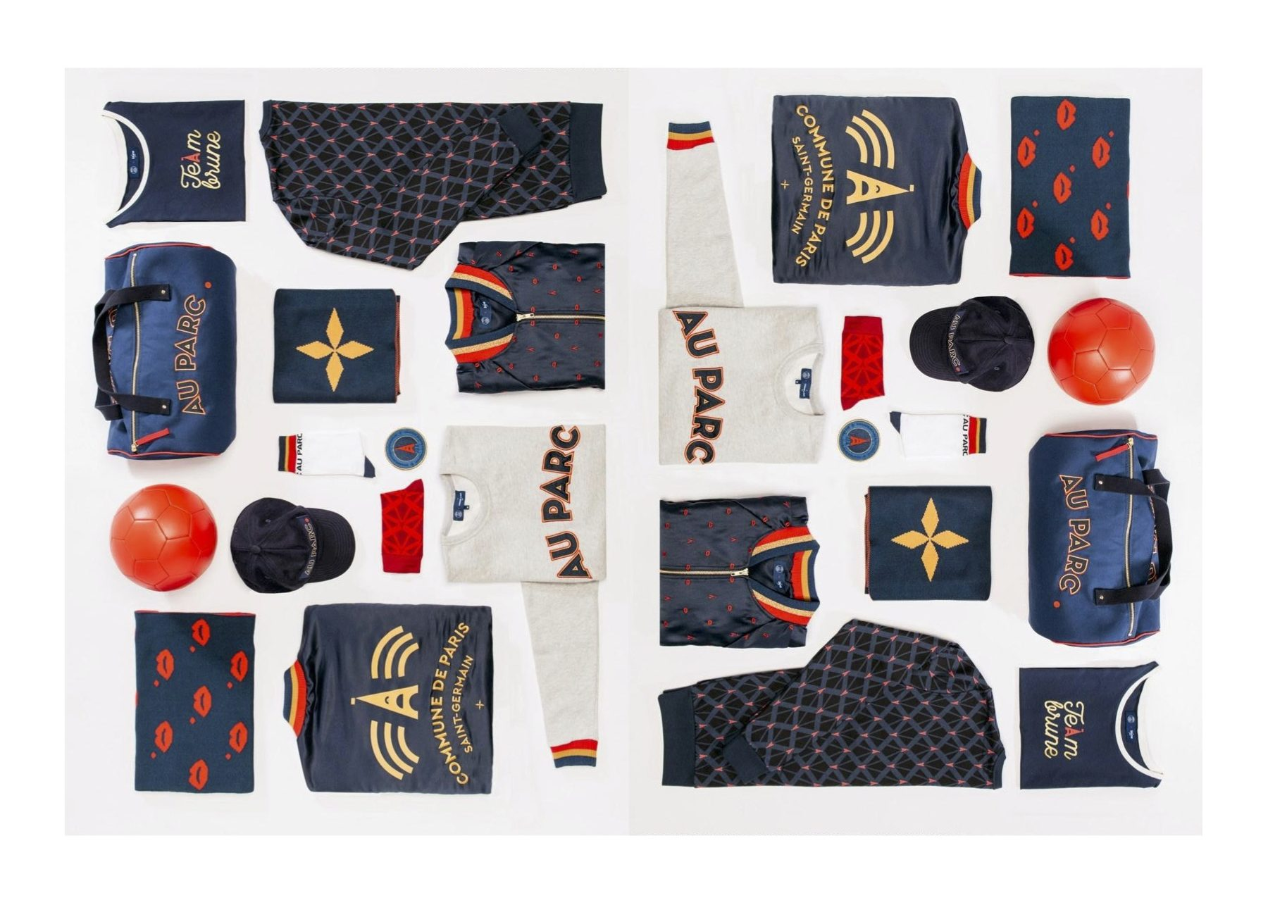 Deux marques parisiennes exposent avec le Paris Saint-Germain