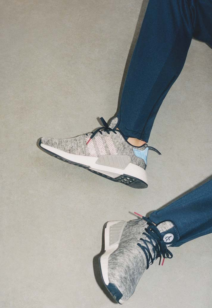 Kasper Dolberg, égérie de la collab' adidas Originals x United Arrows
