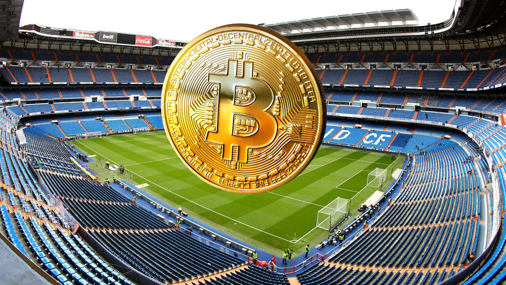 Le Real Madrid s'ouvre aux bitcoins