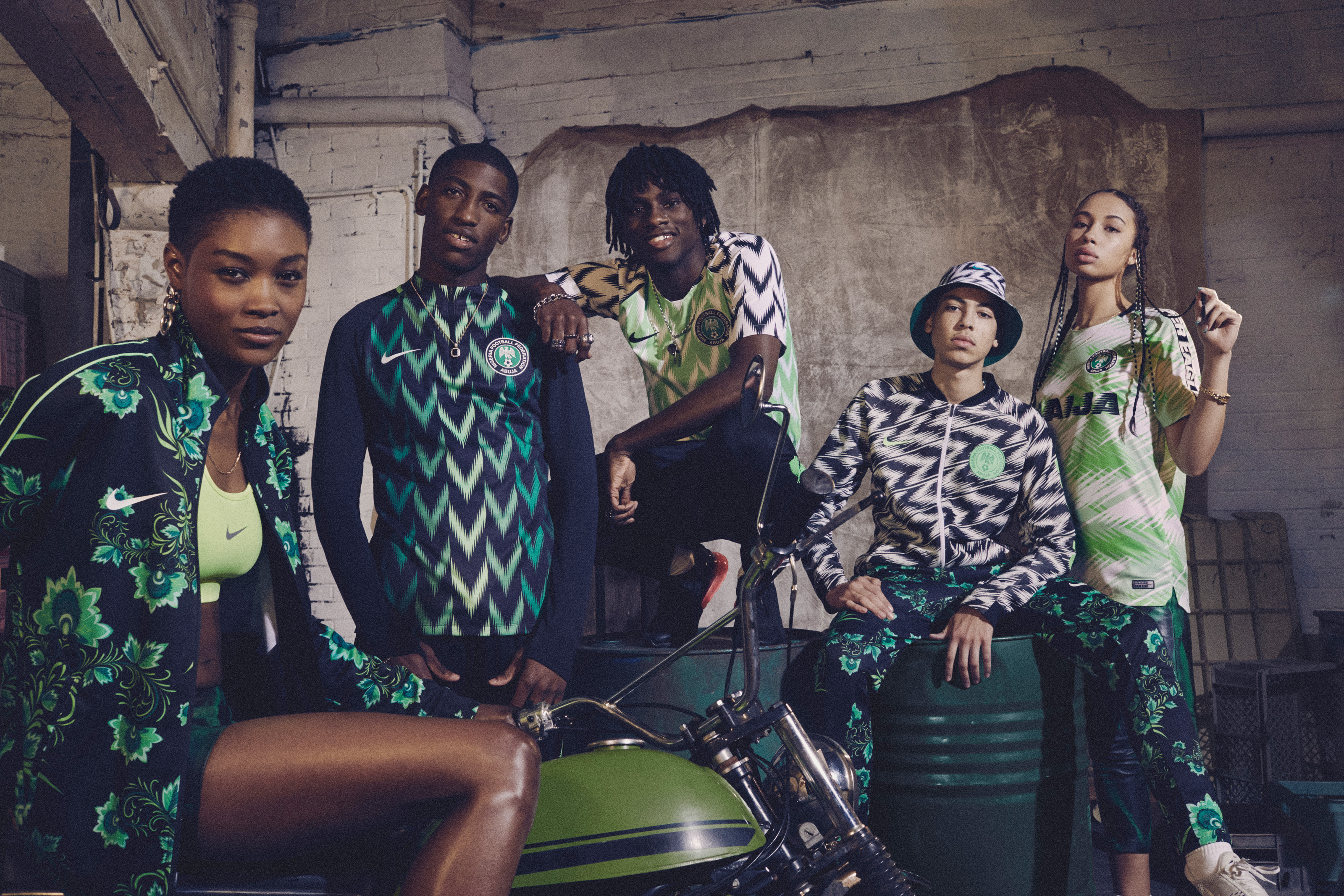 Nike présente le maillot magnifique du Nigéria, mais pas seulement