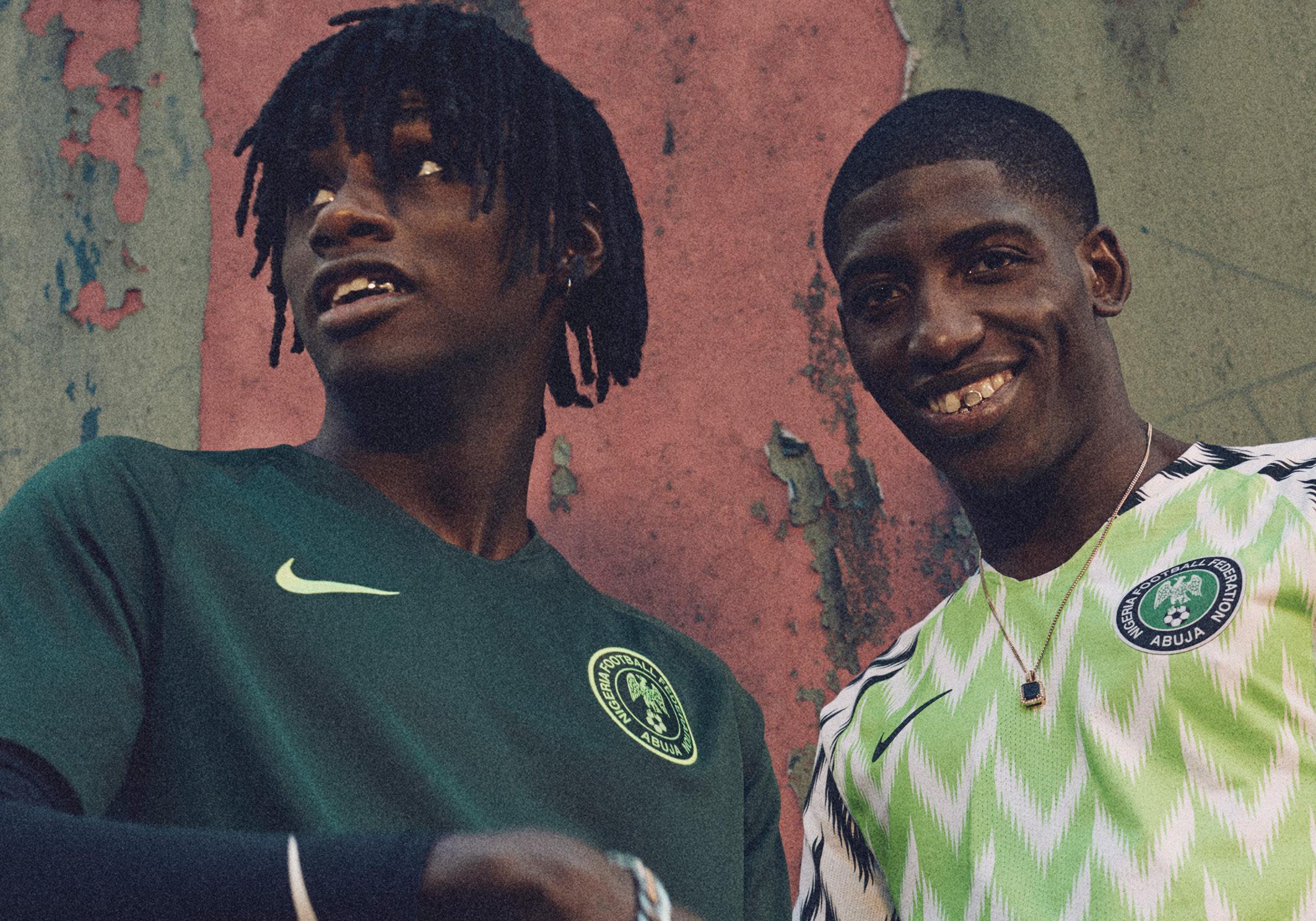 on wholesale wholesale top quality Nike présente le maillot magnifique du Nigéria, mais pas ...