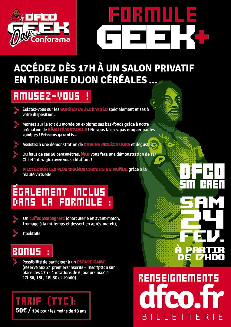 Dijon organise le DFCO Geek Day dans son stade
