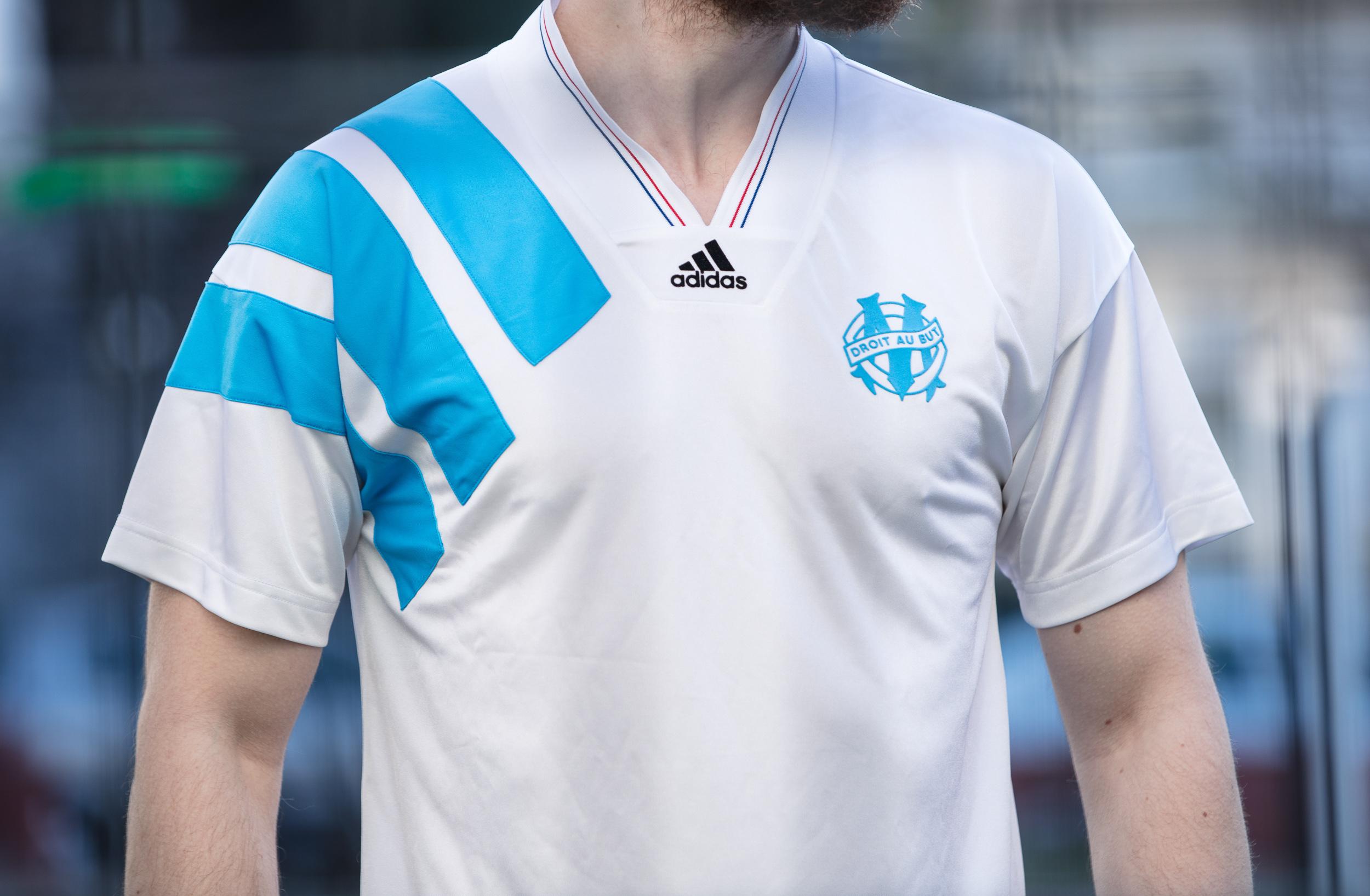 Un maillot collector de l'OM 93 pour fêter la victoire en Ligue des Champions