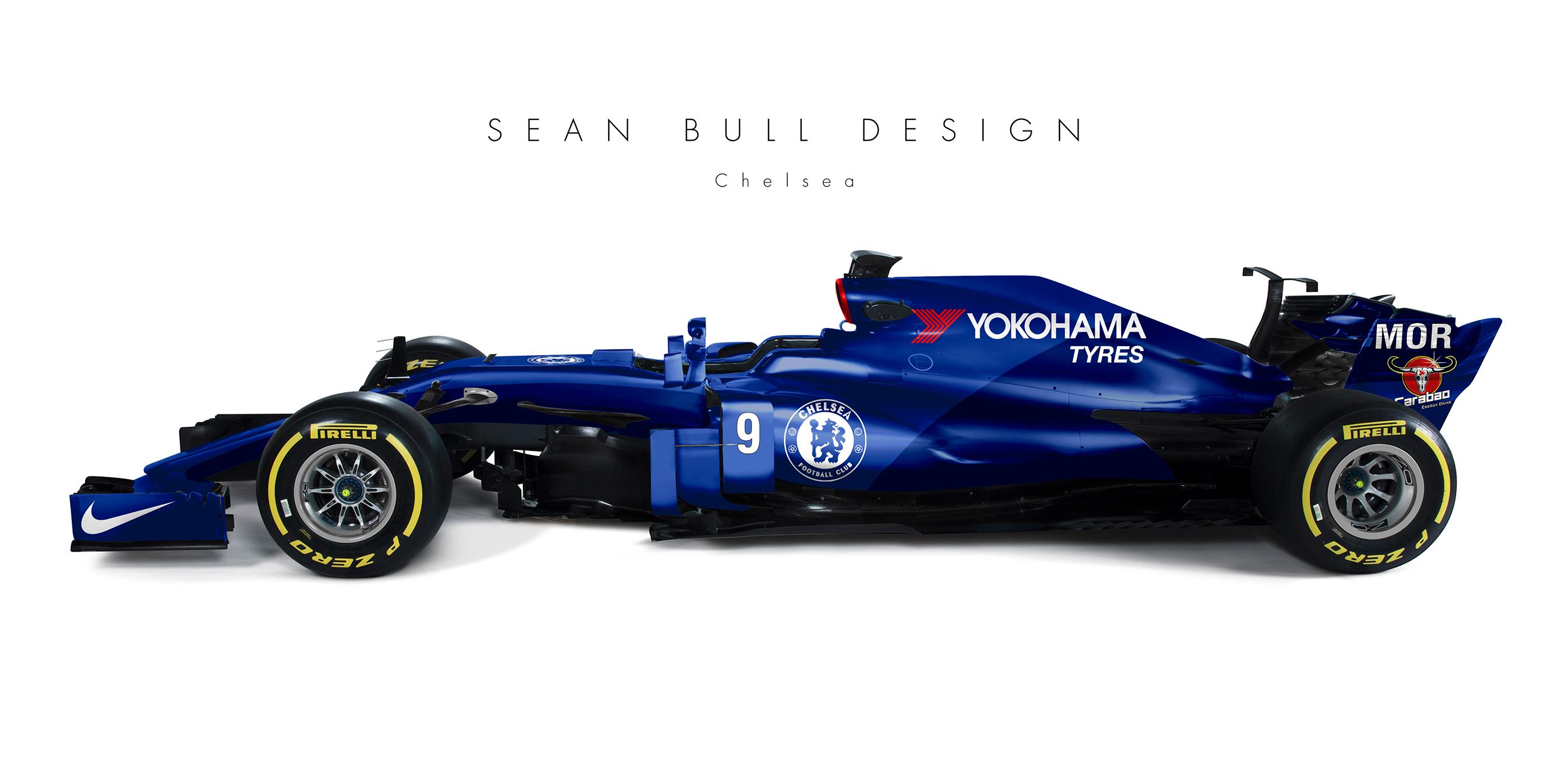 Et si tous les clubs de Premier League avait une F1 à leur image ?