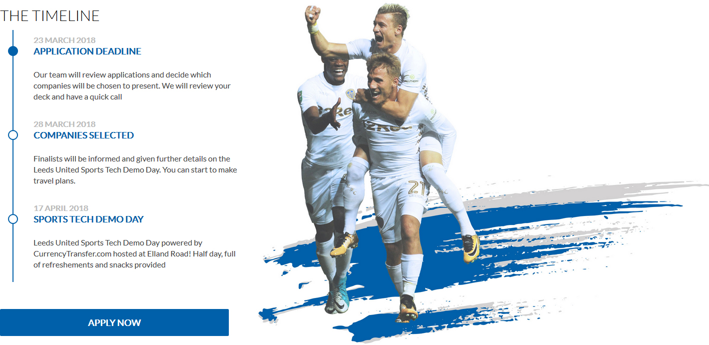 Leeds United lance son Sports Tech Demo Day