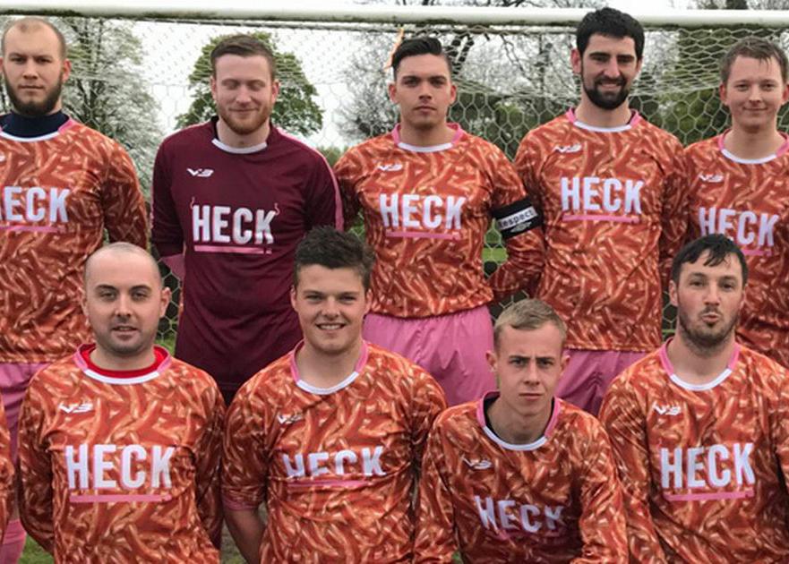 Le maillot du Bedale AFC officiellement le plus affreux d'Angleterre