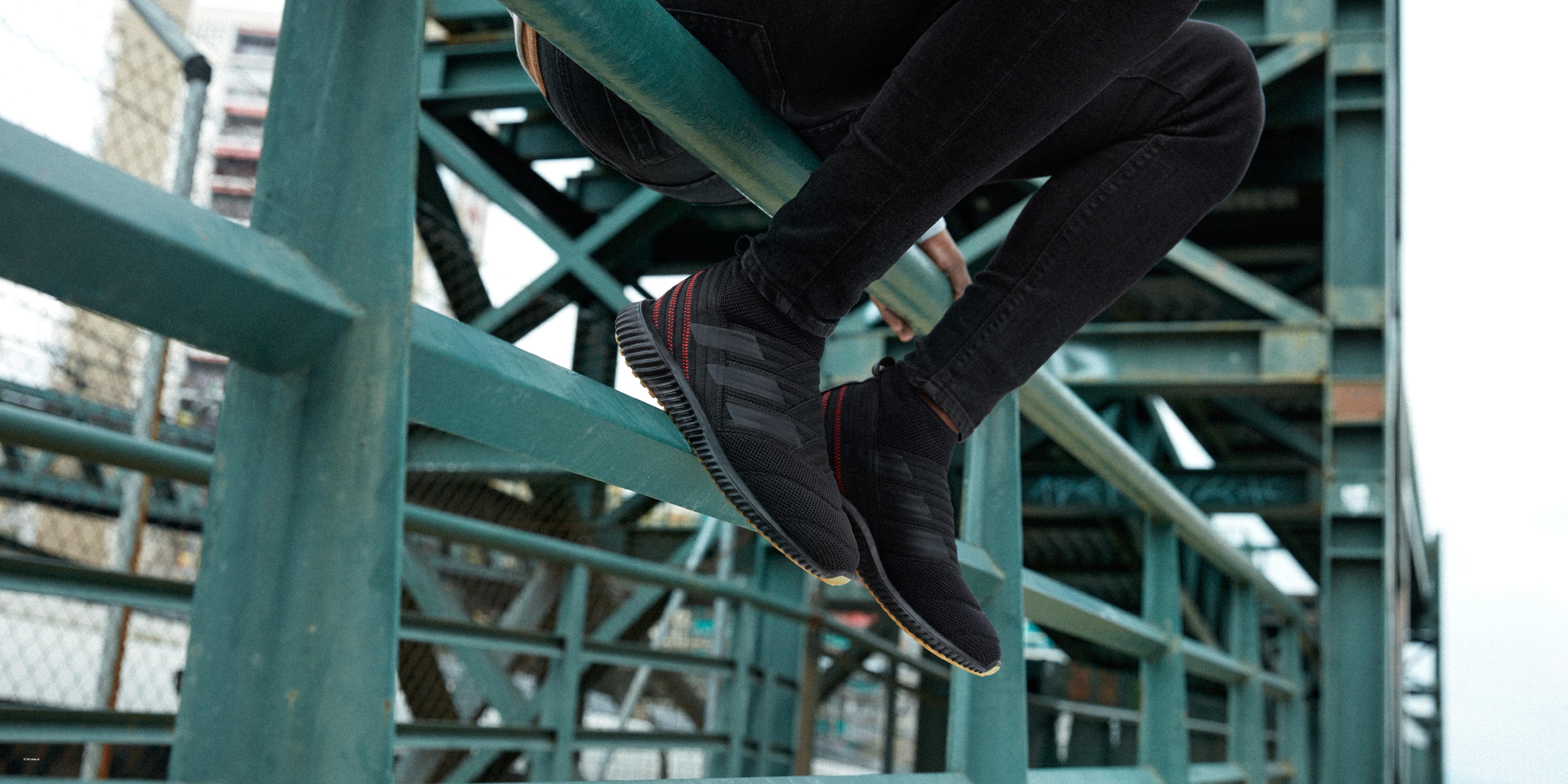 adidas dévoile la Nemeziz Mid, chaussure street inspirée par le « taping »