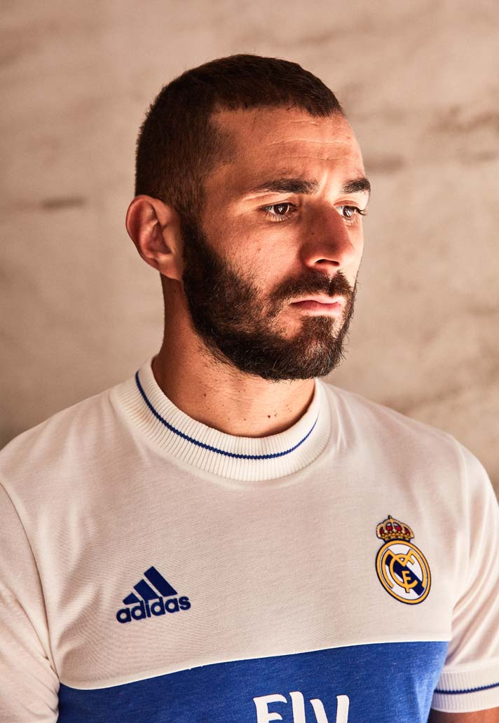 adidas poursuit sa collection Icon Jersey avec le Real Madrid