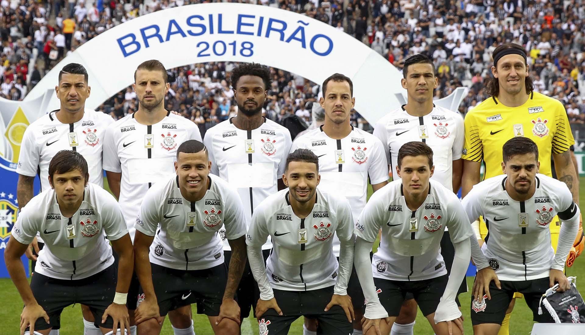 Le sponsor des Corinthians s'est dévoilé grâce à la sueur des joueurs
