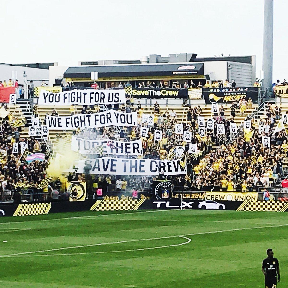 Columbus Crew : les supporters contre le déménagement de la franchise