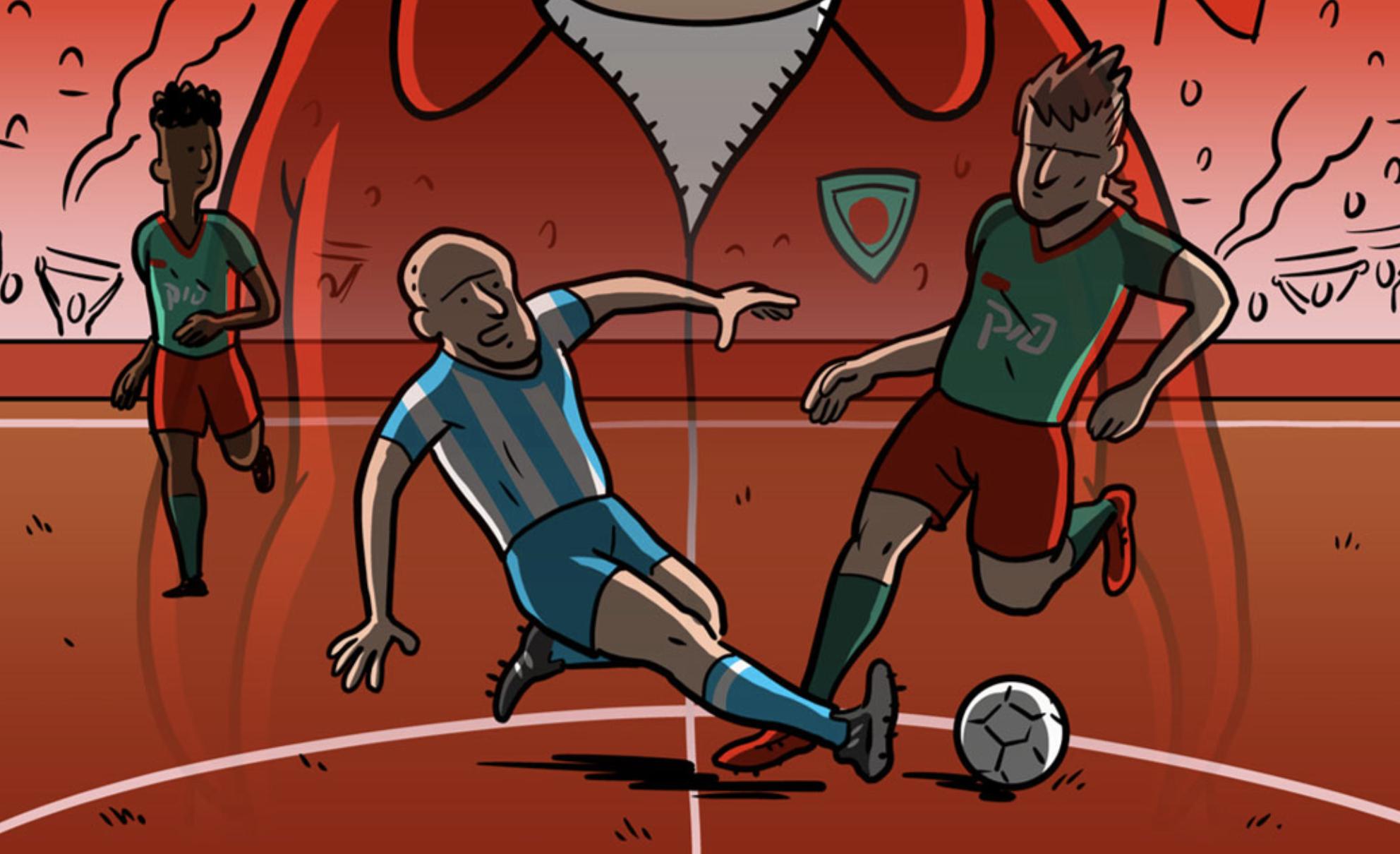 Death Fix, la BD décalée à suivre pendant la Coupe du monde