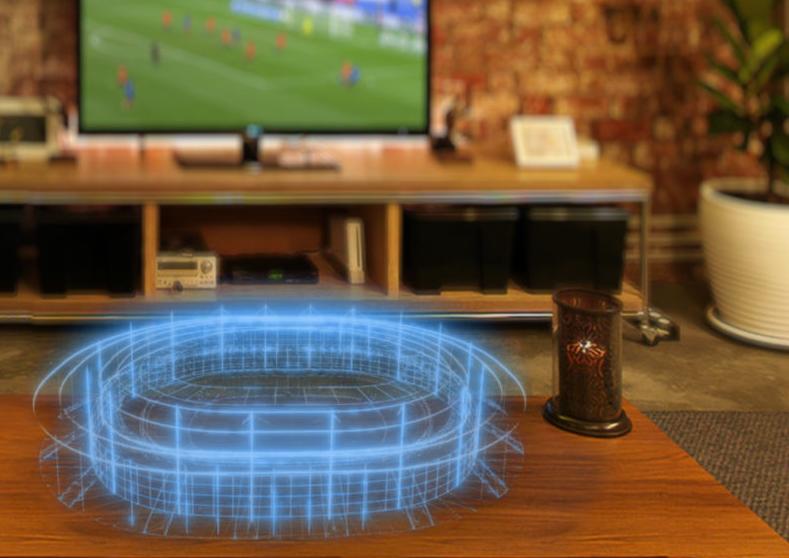 Immersiv : une solution en réalité augmenté qui améliore l'expérience match