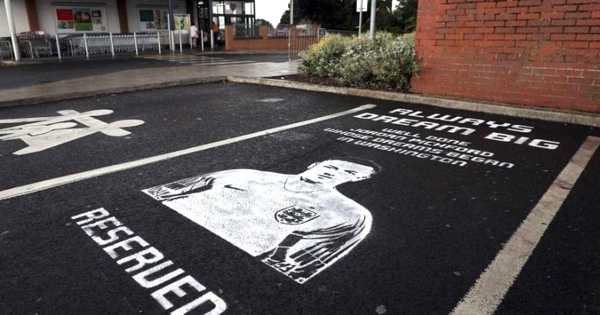 Lidl réserve des places de parking privilégiées aux joueurs anglais