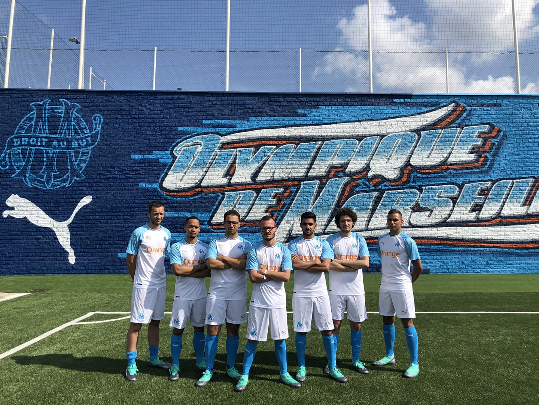 Puma x OM, le lancement du nouveau maillot de l'OM