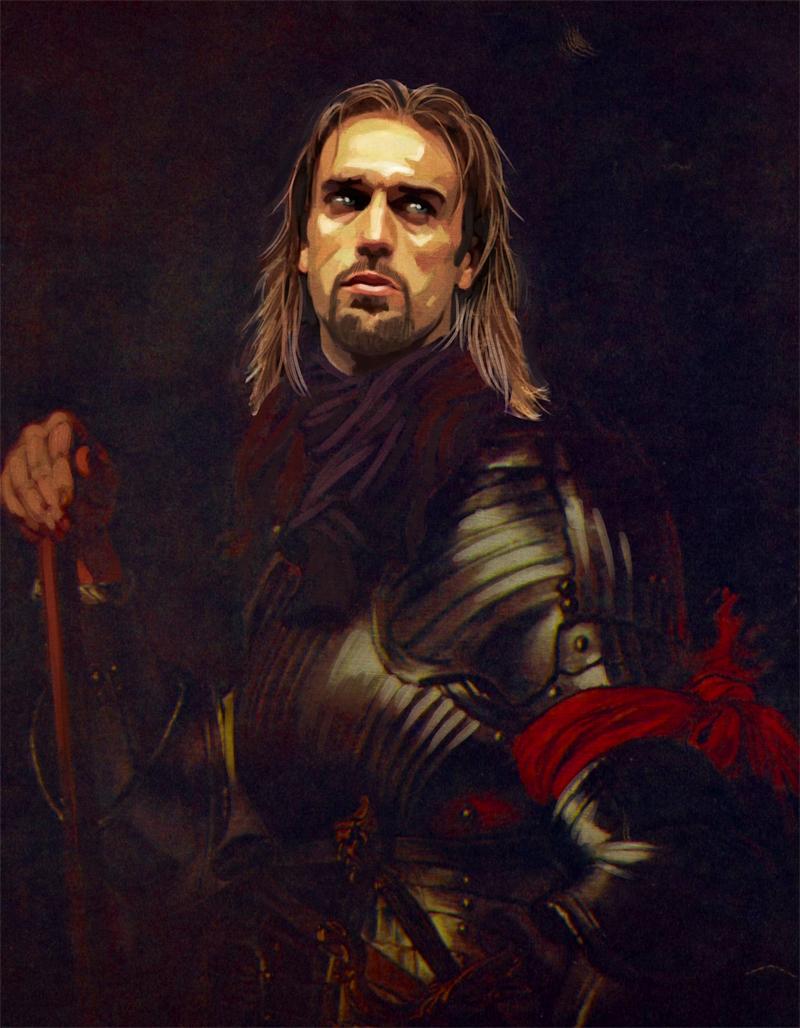 Un artiste italien représente des légendes du football comme des généraux