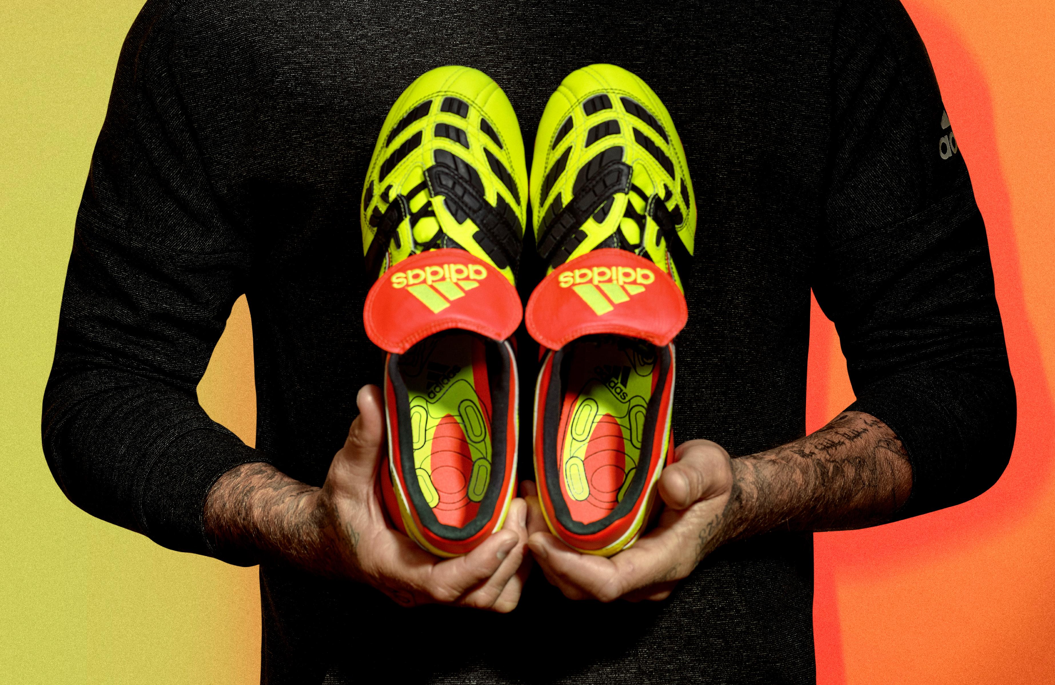Zidane et Beckham dévoilent les nouvelles Predator d'Adidas