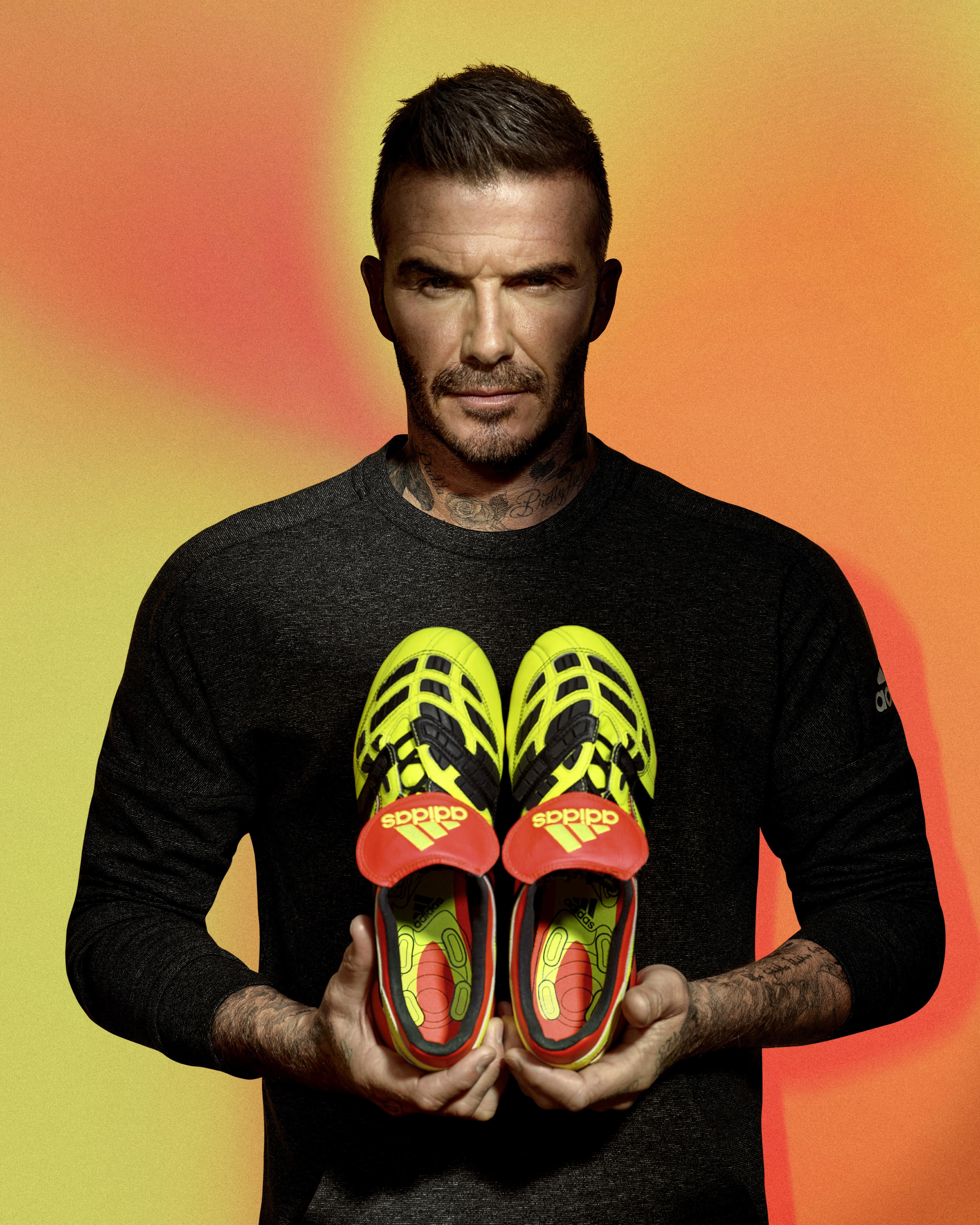Dévoilent Les D'adidas Predator Beckham Nouvelles Zidane Et SUzjMVLqpG