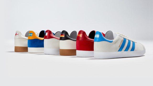 Adidas a sorti une collection de baskets spéciales Coupe du