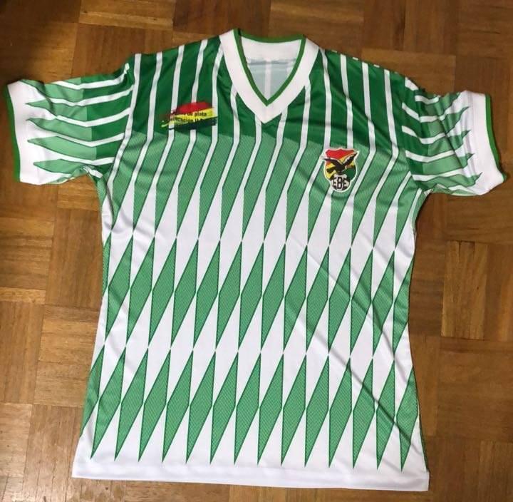 Pour les 25 ans d'USA 94, la Bolivie portera ce maillot mythique