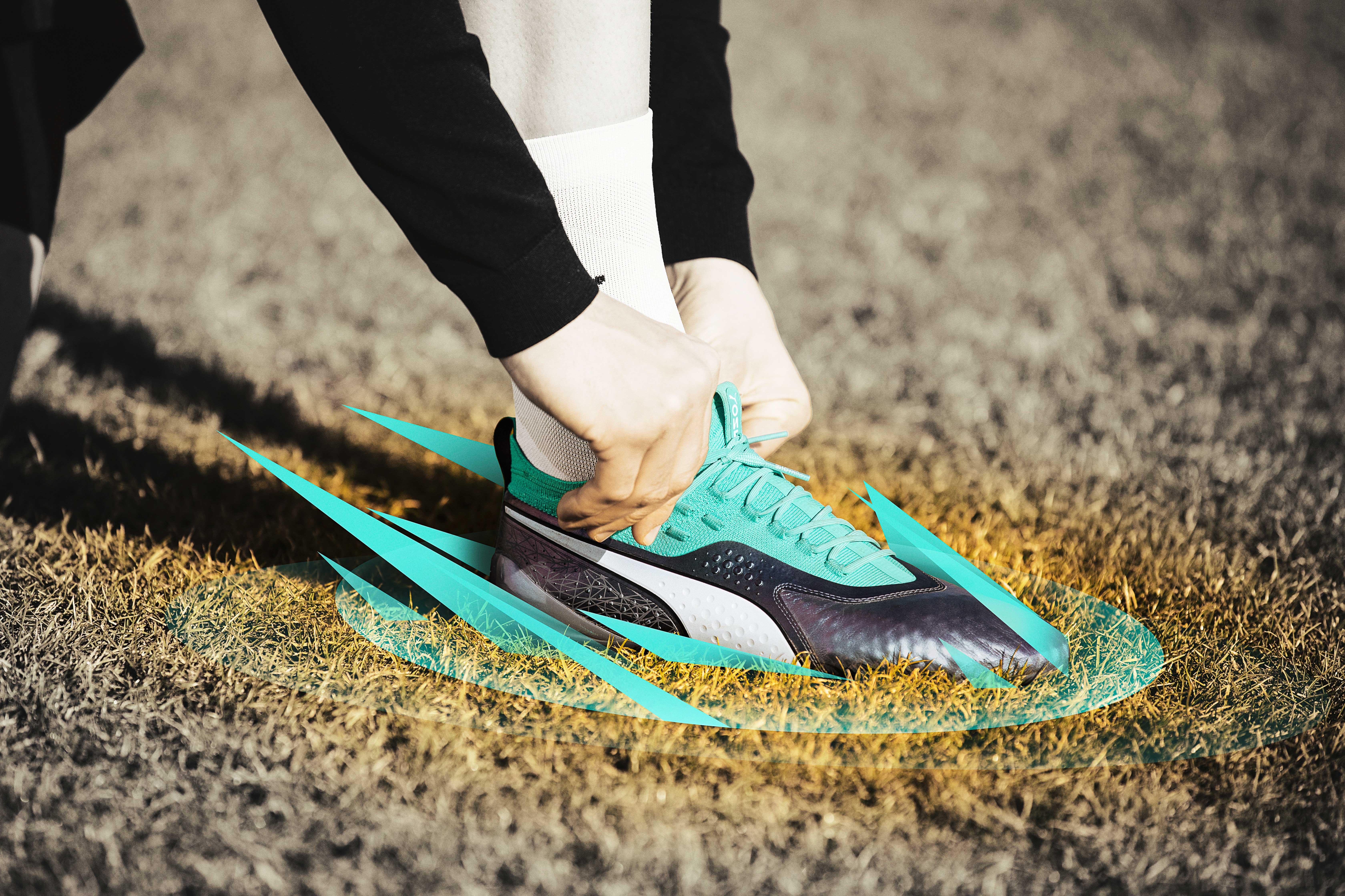 On a testé les Puma One, chaussures classes et sobres pour des frappes puissantes