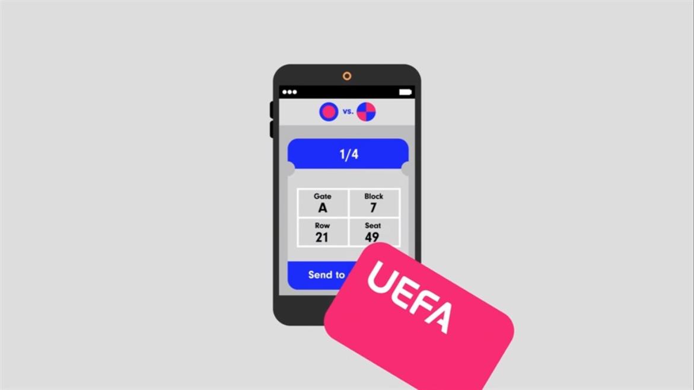 Blockchain, nouveau moyen de l'UEFA pour faire face au trafic de faux billets