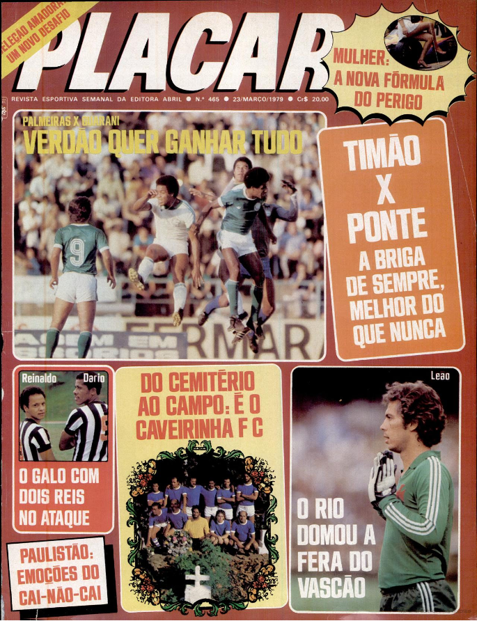 La Caveirinha FC, un club de pompes funèbres qui s'est fait un nom au Brésil