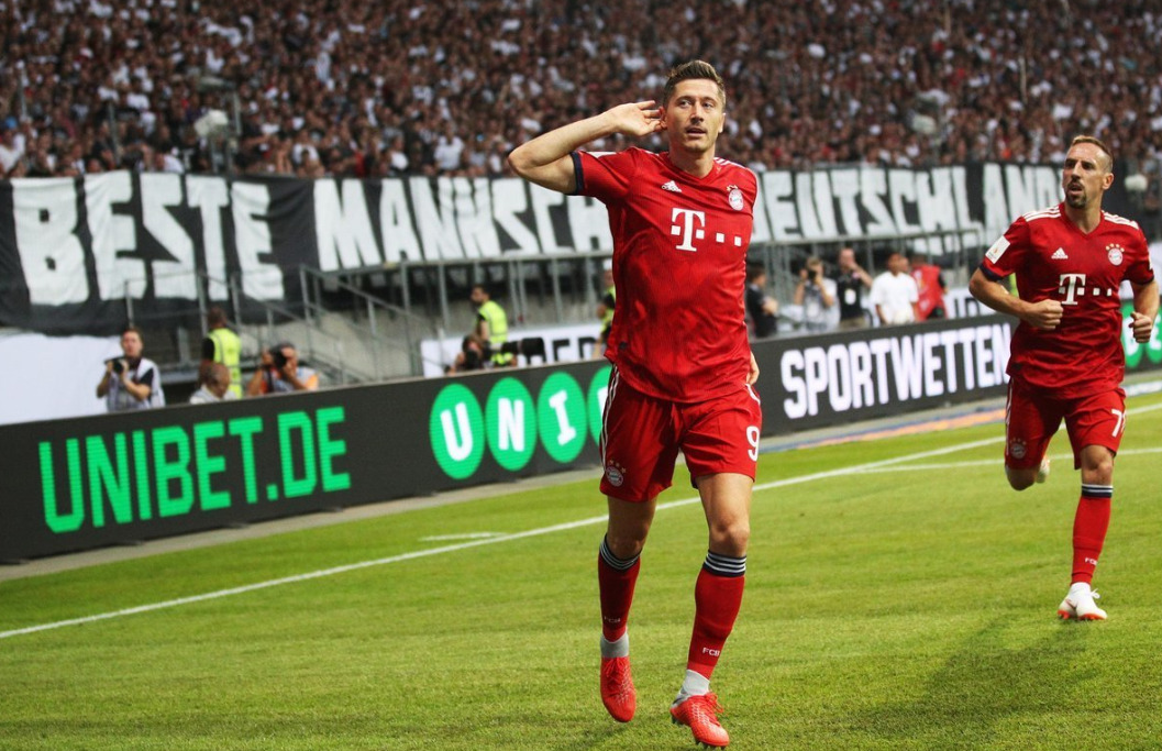 Tour d'Europe : Lewandowski régale, Liverpool s'amuse