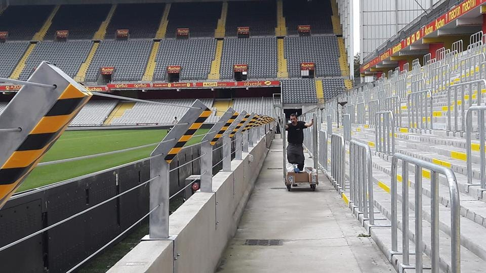 Ce week-end, le RC Lens va inaugurer sa tribune debout