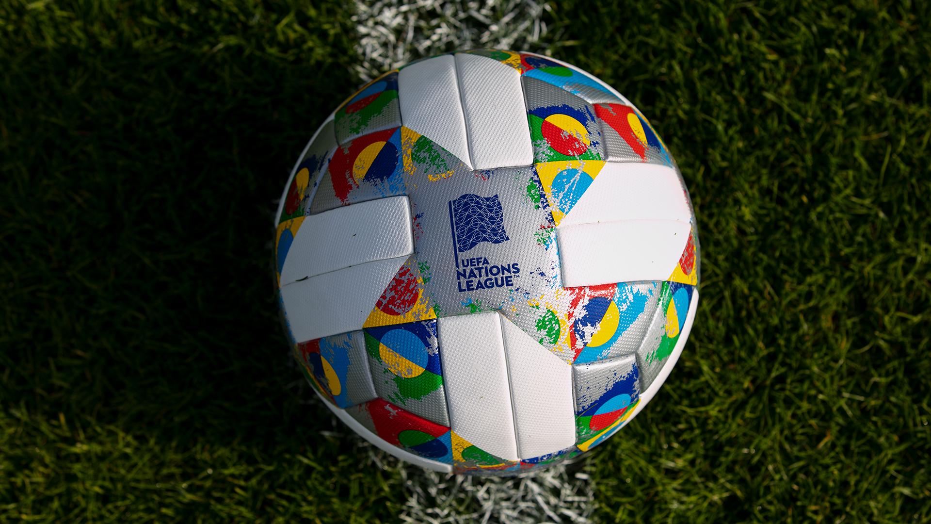 Le ballon adidas de la Ligue des Nations a été dévoilé
