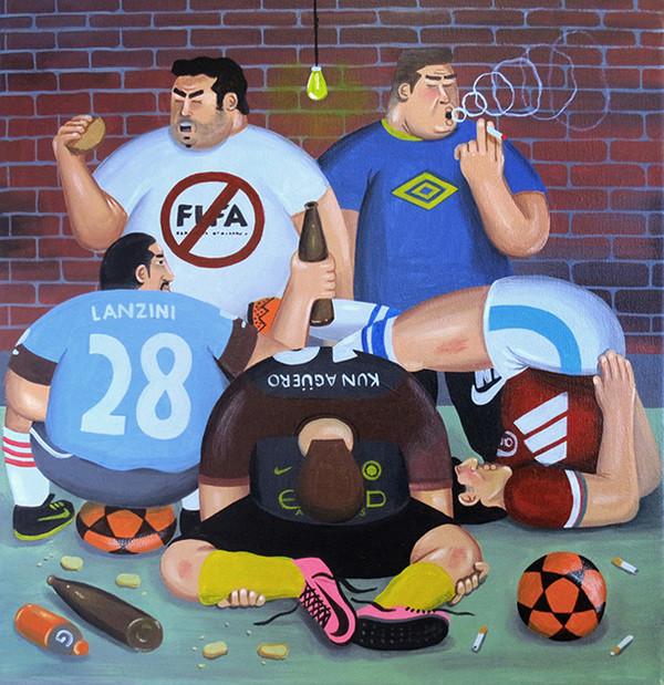 Martin Gordopelota, le foot de la rue comme inspiration