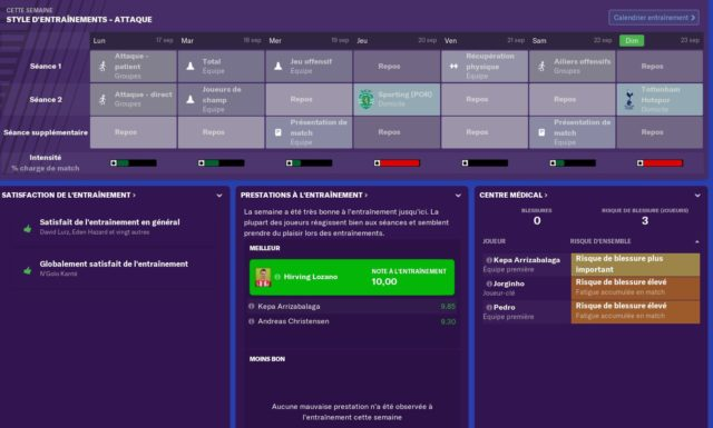 Football Manager 2019 plus limpide que jamais