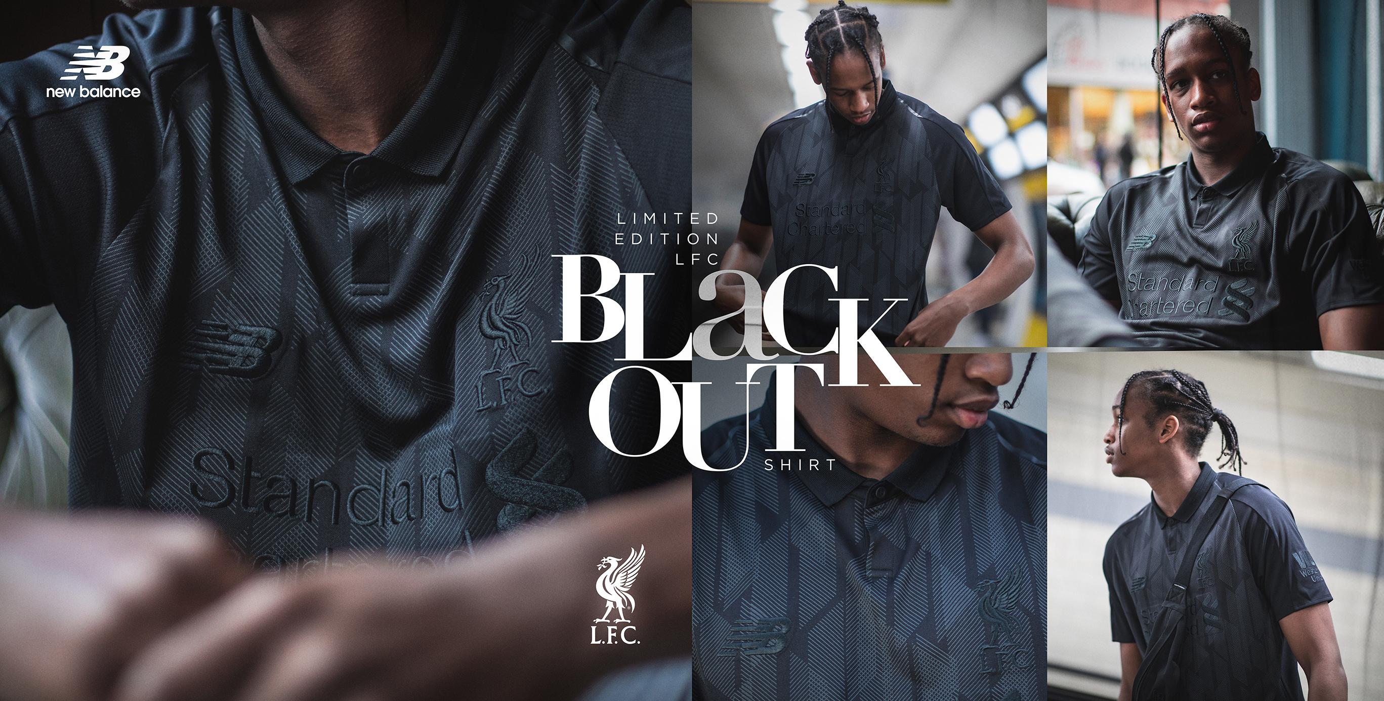 Un maillot noir pour les Reds de Liverpool