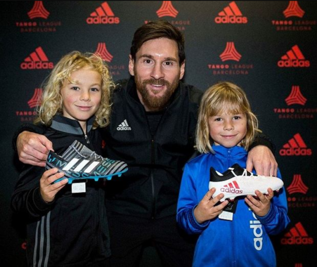Adidas signe un contrat avec une jeune pépite de... 9 ans !
