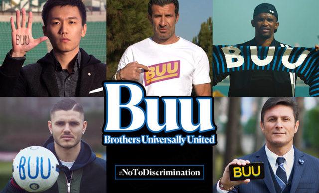 BUU, la campagne de l'Inter pour lutter contre le racisme