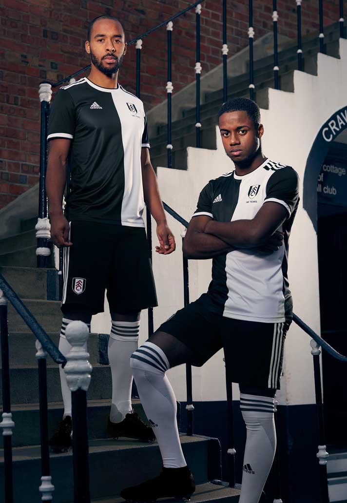 Adidas célèbre le 140e anniversaire de Fulham ⚫️⚪️