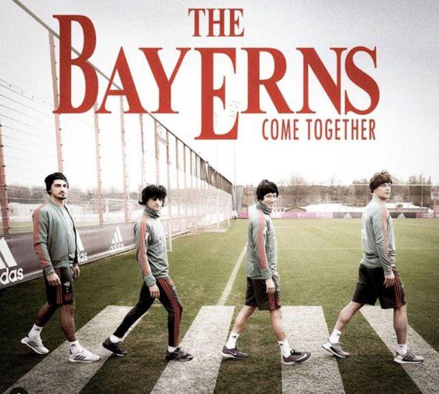 Le Bayern à la sauce Beatles