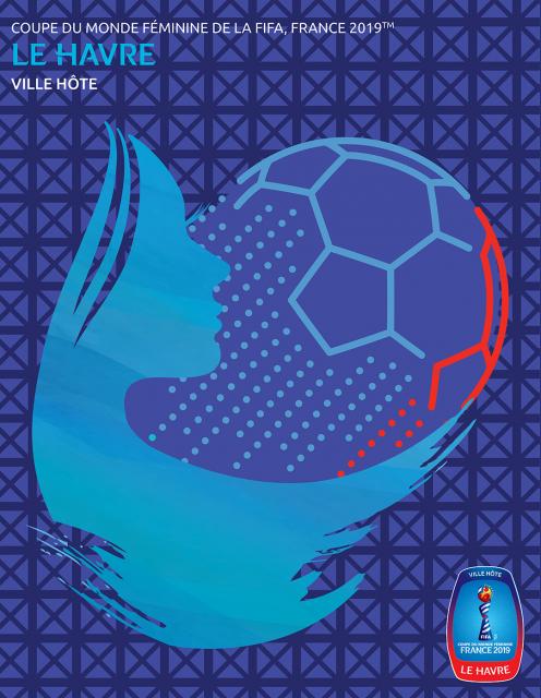 Les affiches de la Coupe du monde féminine dévoilées