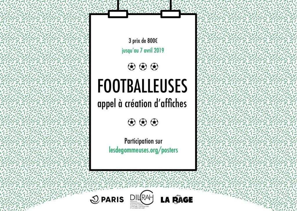 « Footballeuses », un concours créatif pour la Coupe du monde