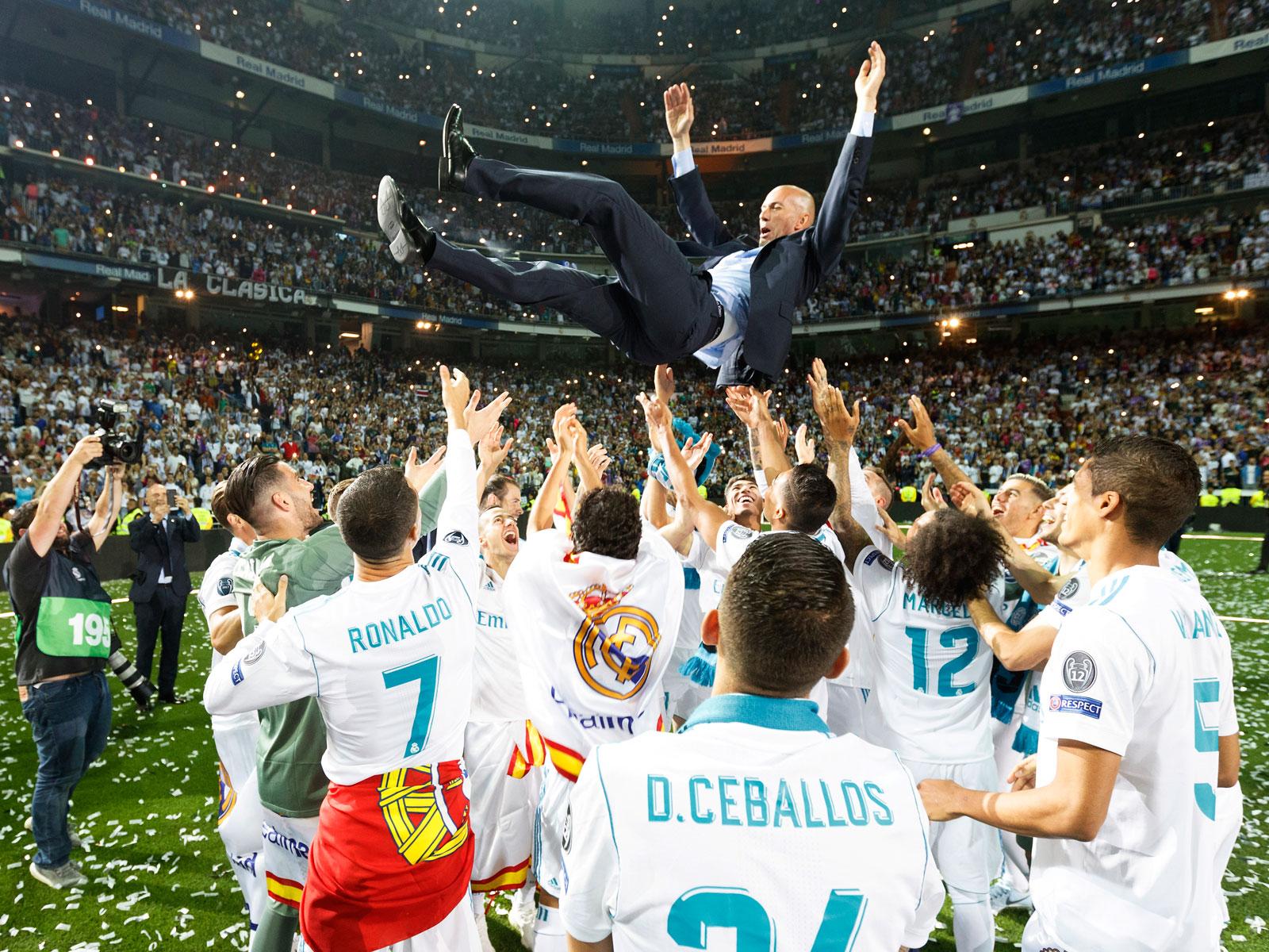 Zidane à Madrid, le Retour du roi