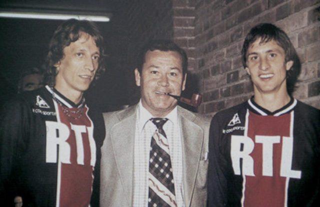 Le jour où Cruyff a joué au PSG