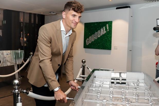 Thomas Meunier lance sa première expo foot