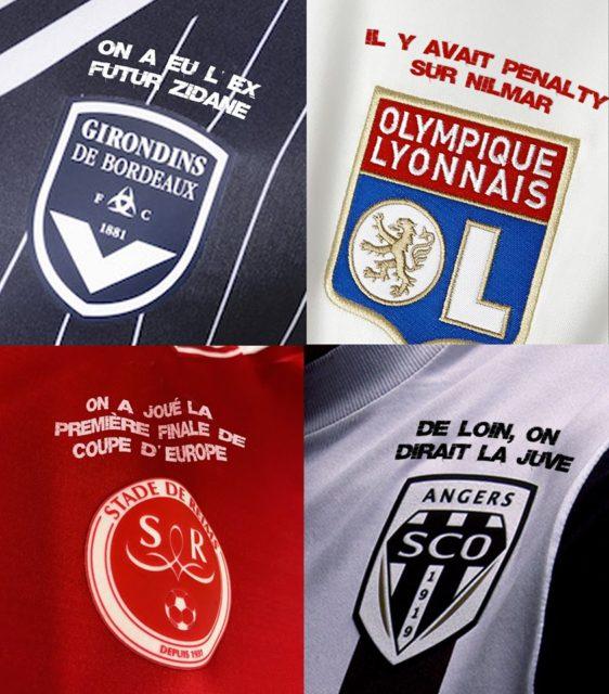 La fierté des clubs de L1 sur leur blason