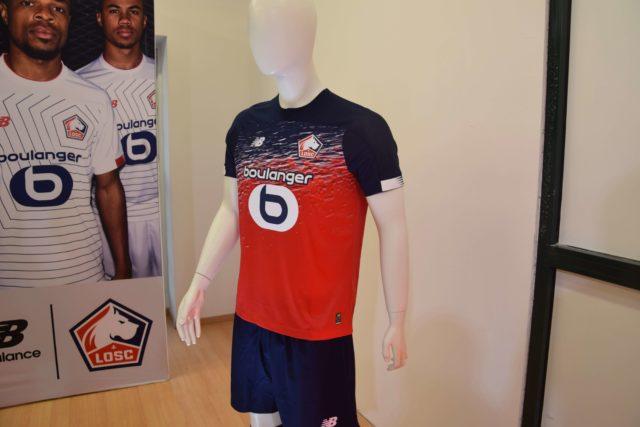 On était au lancement des nouveaux maillots du LOSC by New Balance